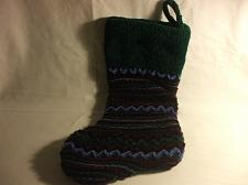 Buy 100% Polyester Christmas Stocking Multi Colored