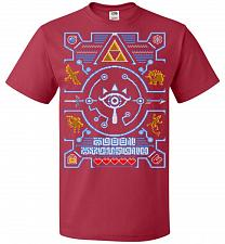 Buy Legend Of Zelda Ugly Sweater Design Adult Unisex T-Shirt Pop Culture Graphic Tee (5XL