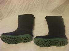 Buy Toddlers Black Rubber Boots Size 12 8 Inches From Heel To Toe