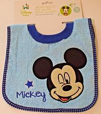 Buy Mickey Mouse Terrycloth Pullover Baby Bib NIP