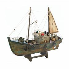 Buy *18486U - Cutter Fishing Boat Paulownia Wood Model