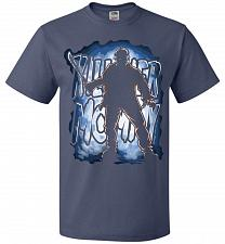 Buy Jason Voorhees Killer Mommy Adult Unisex T-Shirt Pop Culture Graphic Tee (5XL/Denim)