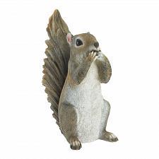 Buy *18249U - Speak No Evil Grey Squirrel Figure Garden Statue