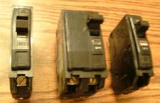 Buy Lot of 3: Square D Type QO Circuit Breakers