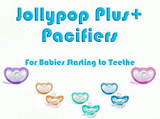 Buy Jollypop Schnuller inklusive + Pick Your Farbe Baby Soothie Gumdrop Silikon 3+