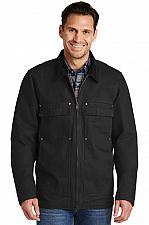 Buy CornerStone® Washed Duck Cloth Chore Coat Work Jacket CSJ50 SM - 4X