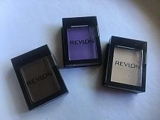 Buy Revlon 3 Piece Eye Shadow Singles Cocoa Satin, Bone Matte, Purple Matte New