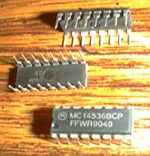 Buy Lot of 18: Motorola MC14536BCP