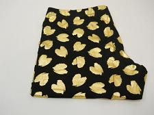 Buy No Boundaries Womens Ankle Legging Size 2XL Gold Foil Heart Print Black