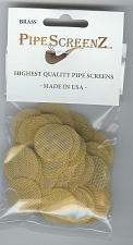 """Buy (Inch) 100+ Count BRASS Pipe Screens 1.00"""" (25.4 mm) Made in USA!"""
