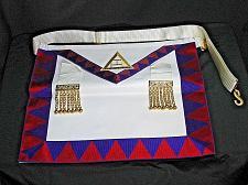 Buy Vintage Masonic Master Mason Apron Regalia High Priest Freemason Ceremonial