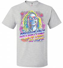Buy Beetlejuice 80s Nostalgia Adult Unisex T-Shirt Pop Culture Graphic Tee (L/Ash) Humor