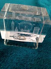 "Buy Crystal Souvenirs London Cityscape Glass approximately 2.5"" x 1.5"" x 1.5"""