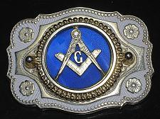 Buy Vintage Mason Belt Buckle Freeman Masonic Shriners Masonry Fraternal Brass