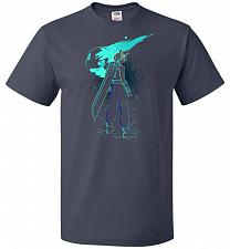 Buy Shadow Of The Meteor Unisex T-Shirt Pop Culture Graphic Tee (2XL/J Navy) Humor Funny