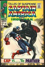 Buy Tales of Suspense #98 BLACK PANTHER Captain America & Iron Man Marvel Comics1968