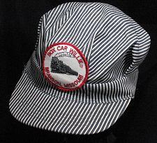 Buy Box Car Willie Vintage Branson Missouri Railroad Conductor Train Engineer Hat