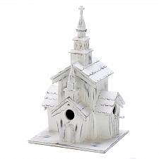 Buy 14778U - Little White Chapel Decorative Wood Birdhouse