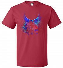 Buy Genkidama Art Unisex T-Shirt Pop Culture Graphic Tee (XL/True Red) Humor Funny Nerdy