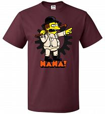 Buy A Clockwork Bully Unisex T-Shirt Pop Culture Graphic Tee (3XL/Maroon) Humor Funny Ner