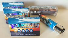 Buy 3 Packs ELEMENTS 1 1/2 Size Rolling Papers+79mm Roller Machine+Clipper Lighter