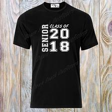 Buy Class of 2018 Senior Graduation T Shirt Squared Small - 6X Premium Tees