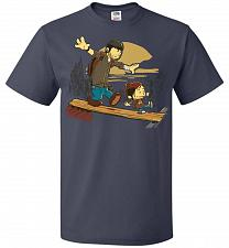 Buy Just the 2 of Us Unisex T-Shirt Pop Culture Graphic Tee (XL/J Navy) Humor Funny Nerdy