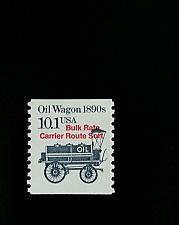 Buy 1985 10.1c Oil Wagon, Coil Scott 2130a Mint F/VF NH