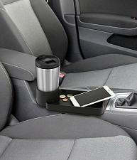 Buy :10687U - Auto Cup Holder Tray Black Seat Clip