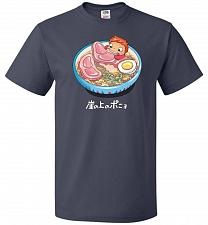 Buy Noodle Swim Unisex T-Shirt Pop Culture Graphic Tee (M/J Navy) Humor Funny Nerdy Geeky