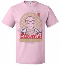 Buy Eleven's Waffle House Adult Unisex T-Shirt Pop Culture Graphic Tee (2XL/Classic Pink)