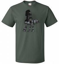 Buy Dark Walker Unisex T-Shirt Pop Culture Graphic Tee (3XL/Forest Green) Humor Funny Ner