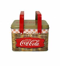 Buy :10595U - Coke Coca-Cola Retro Steel Picnic Basket