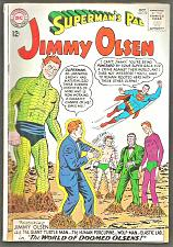 Buy Superman's Pal JIMMY OLSEN #72 Silver Age 1st series and print DC COMICS 1963