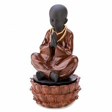 Buy 12643U - Praying Seated Monk Figurine Treasure Box