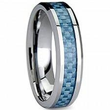 Buy coi Jewelry Tungsten Carbide Wedding Band Ring With Carbon Fiber