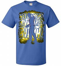 Buy Freddy Krueger Welcome To My World B! Adult Unisex T-Shirt Pop Culture Graphic Tee (S