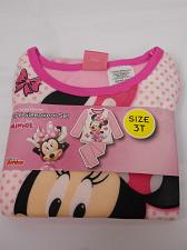 Buy Toddlers Girls 2PC Flannel Pajama Set DISNEY MINNIE MOUSE Pink Size 3T Long Slee