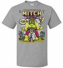 Buy Incredible Mitch Unisex T-Shirt Pop Culture Graphic Tee (5XL/Athletic Heather) Humor