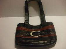 Buy D Fusion Black Leather Purse