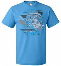 Buy TK 421 Unisex T-Shirt Pop Culture Graphic Tee (L/Pacific Blue) Humor Funny Nerdy Geek