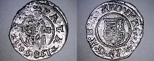 Buy 1585-KB Hungary 1 Denar World Silver Coin - Madonna with Child - Rudolf II