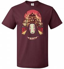 Buy Welcome to the Magical Bathhouse Unisex T-Shirt Pop Culture Graphic Tee (5XL/Maroon)