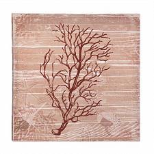 Buy *17388U - Sea-Swept Red Rust Coral Canvas Wall Art