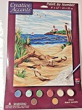 "Buy Creative Accents by Dimensions Paint By Number Kit 9"" X12""~Beach Serenity #99505"