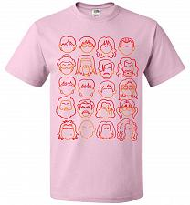 Buy Harry Potter Heads Adult Unisex T-Shirt Pop Culture Graphic Tee (6XL/Classic Pink) Hu