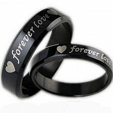 Buy coi Jewelry Black Titanium Ring - JT2150(Size US6/US10.5)