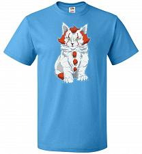 Buy kITten Unisex T-Shirt Pop Culture Graphic Tee (6XL/Pacific Blue) Humor Funny Nerdy Ge