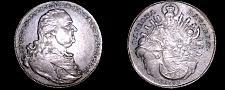 Buy 1795 German States Bavaria 1 Thaler World Silver Coin - Karl Theodor - Munchen