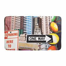 Buy *17398U - City Traffic Signs Floor Mat Polyester Polyurethane Memory Foam